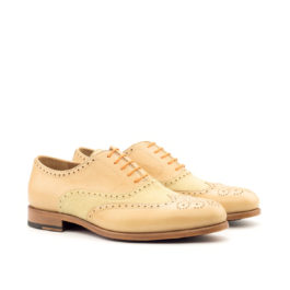 Brogue Suede Leather Shoes