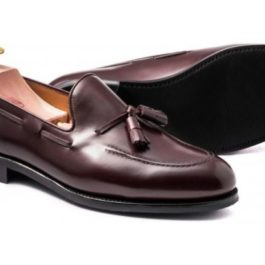 Brown Tassel Loafer | Handmade Shoe | Genuine Leather
