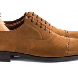 Suede Leather Shoes | Hand Stitched