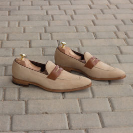 Sueded Leather Loafer