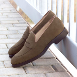 Luxury Suede Loafer Shoes