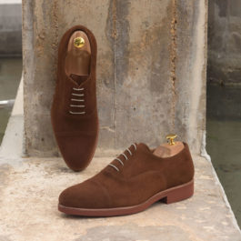 Med Brown Suede Shoes