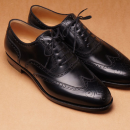 Black Brogue | Handmade Shoe |Genuine Leather