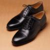 black plain oxford shoes brownmanshoes