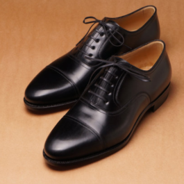 Black Oxford | Handmade Shoe |Genuine Leather