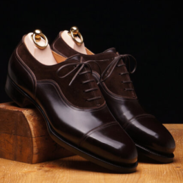 Brown Oxford Shoe | Handmade Genuine Leather
