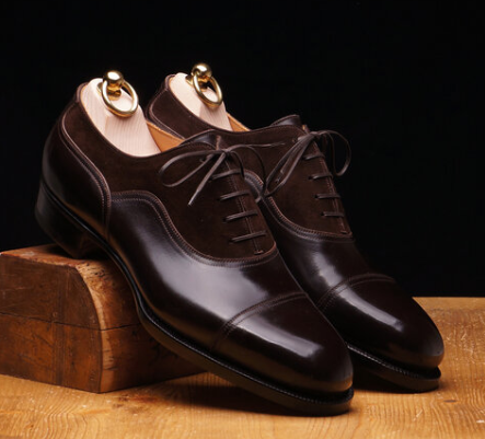 brown leather oxford shoes brownmanshoes