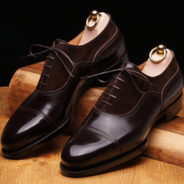 Brown Oxford Shoe | Handmade Shoe |Genuine Leather