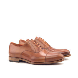 Plain Oxford Leather Shoes