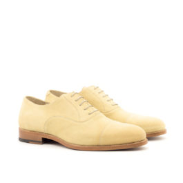 Suede Light Color Oxford Leather Shoes