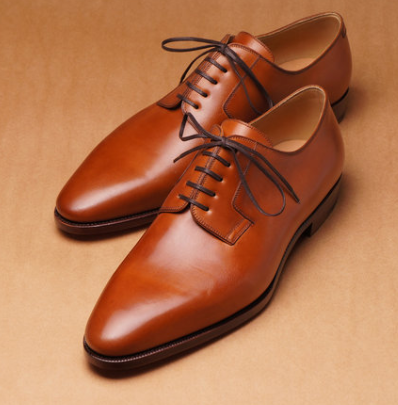 tan leather shoes plain brownmanshoes