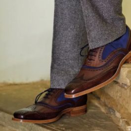 BROGUE LEATHER SHOES | BEST SELLER