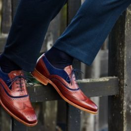 TWO TONE BROGUE SHOES | HANDMADE SHOES