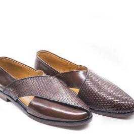 Brown Peshawari  | Handmade Leather Jutti