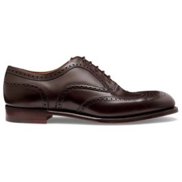 Brown Leather | Brogue Shoes | Handmade