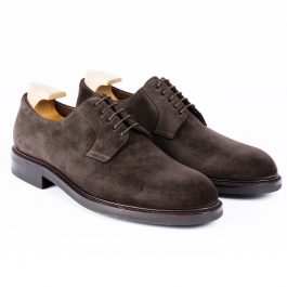 Brown Suede Leather Shoe
