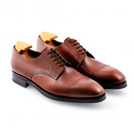 Brown Toe Cap Shoe
