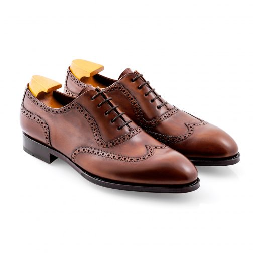Brown Wing Brogue Shoe