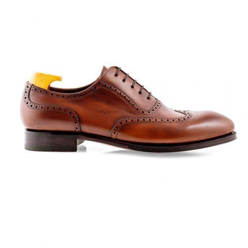 Brown Wing Brogue Shoe