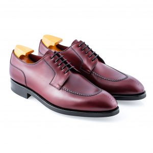 Burgundy Leather Shoe