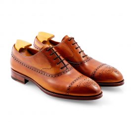 Cuero Longwing Punched Brogue