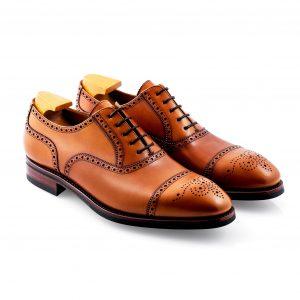 Cuero Semi Brogue Shoe