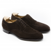 Dark Brown Suede Shoe