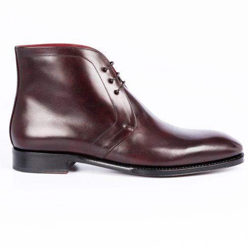 Burgundy Derby Boot