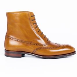 Cuero Brogue Long Boot