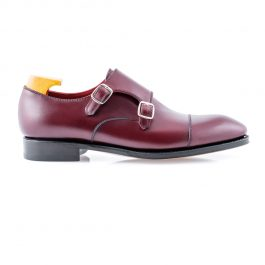 Burgundy Monk Shoe
