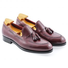 Burgundy Tassel Loafer